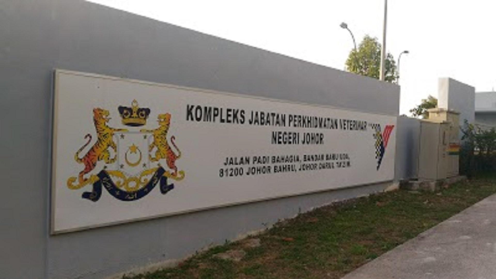 Senarai Klinik Haiwan Di Johor